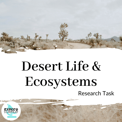 Desert Life and Ecosystems Research Task