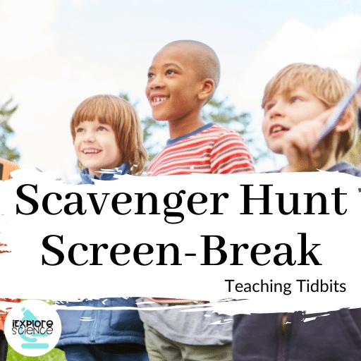 Scavenger Hunt Screen-Break