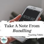 Take A Note From Bundling